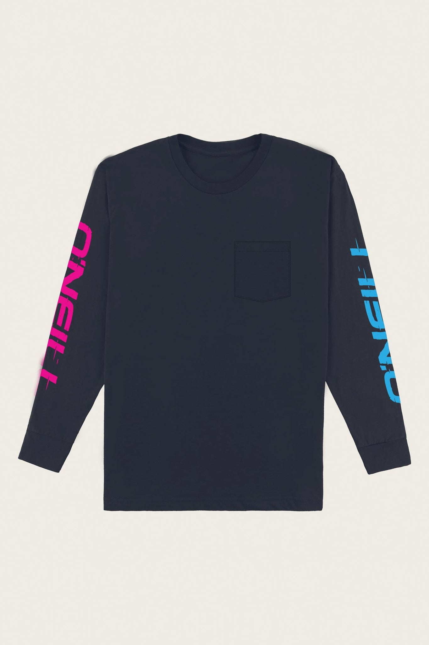 Shacked Pocket Long Sleeve Tee - New Navy | O'Neill