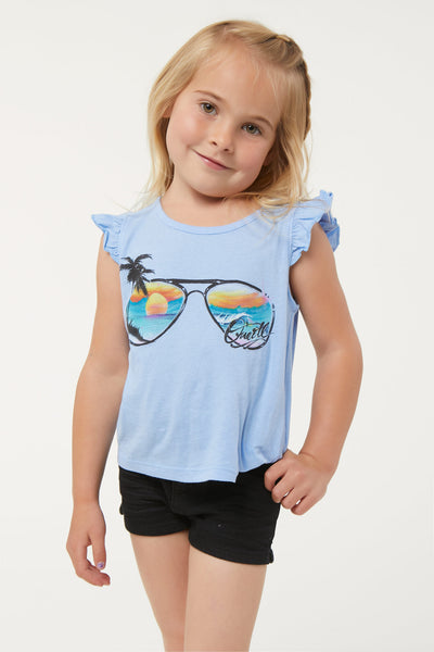 LITTLE GIRLS SHADES TANK TOP
