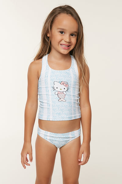 HELLO KITTY X O'NEILL SHELLY SWIM SET