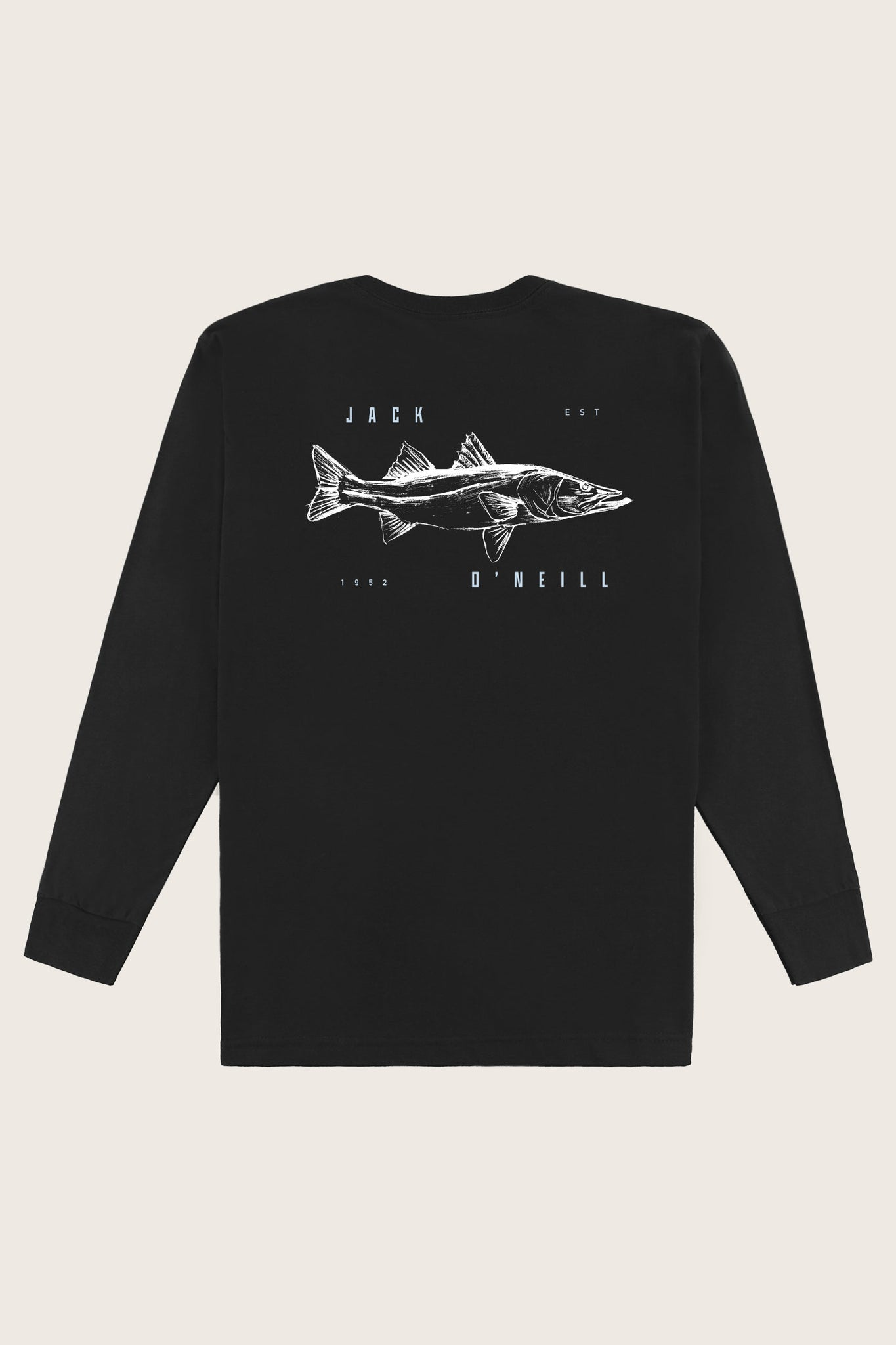 Jack O'Neill Snook Long Sleeve Tee - Black | O'Neill