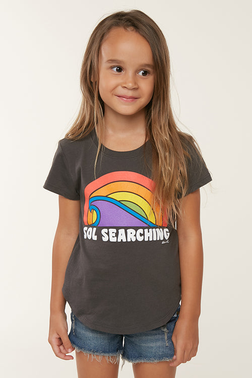 LITTLE GIRLS SOL SEARCH TEE