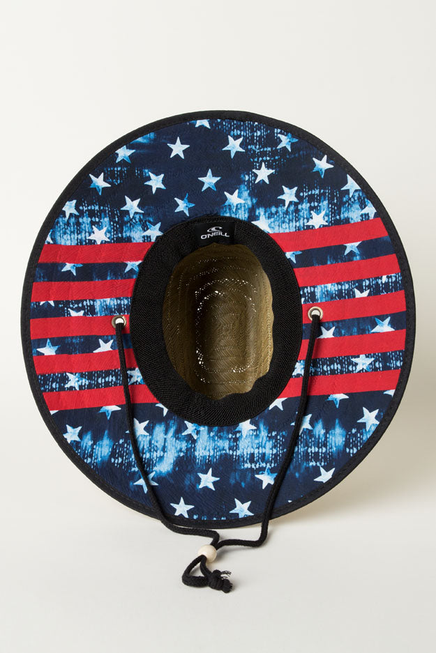 Sonoma Print Hat - Red White Blue | O'Neill