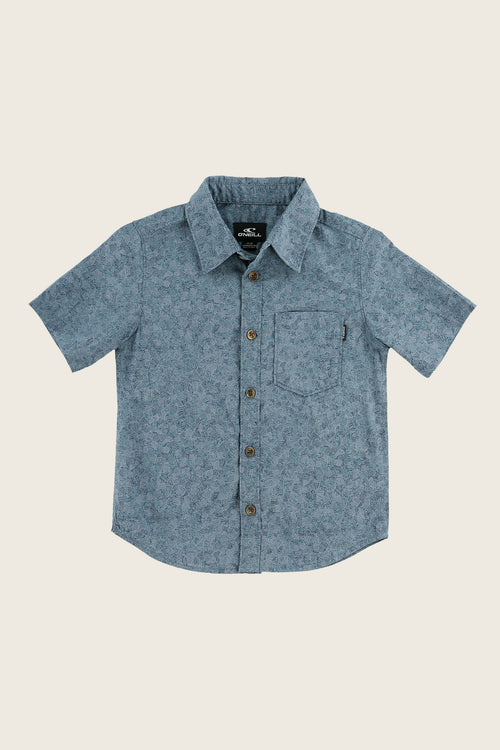 LITTLE BOYS STRUCTURE SHIRT