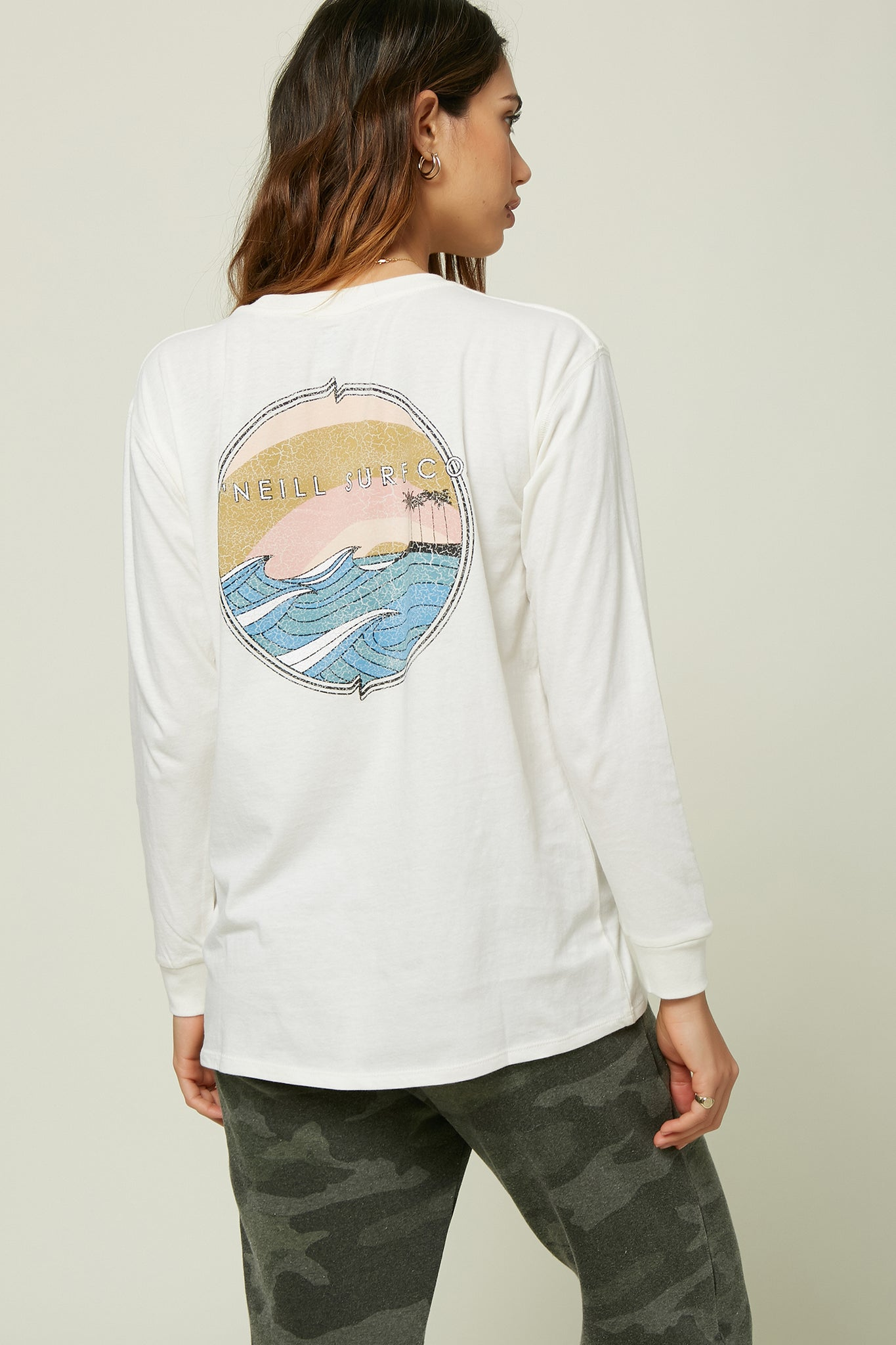 Summer Groove Long Sleeve Shirt - Naked | O'Neill