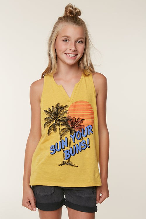 GIRLS SUN BLOCK TANK