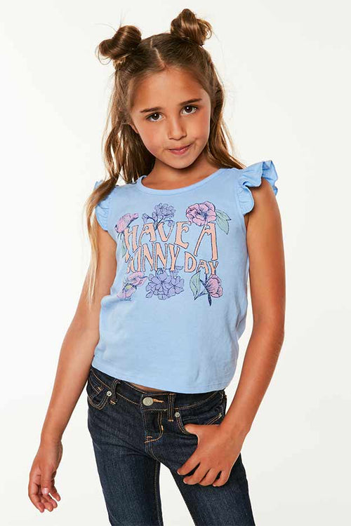 LITTLE GIRLS SUNDAY TANK