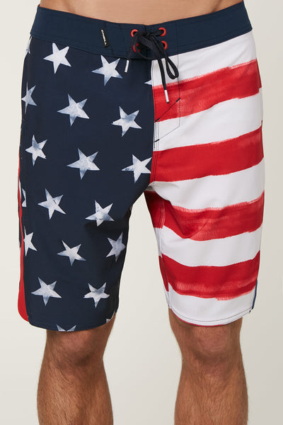 SUPERFREAK SCALLOP BOARDSHORTS