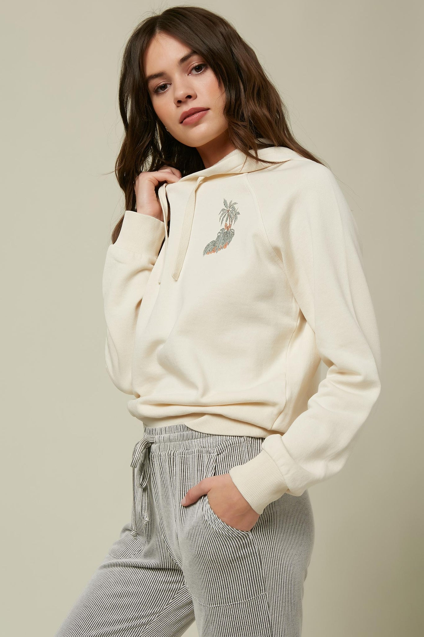 Suzie Beach Hooded Pullover - Winter White | O'Neill