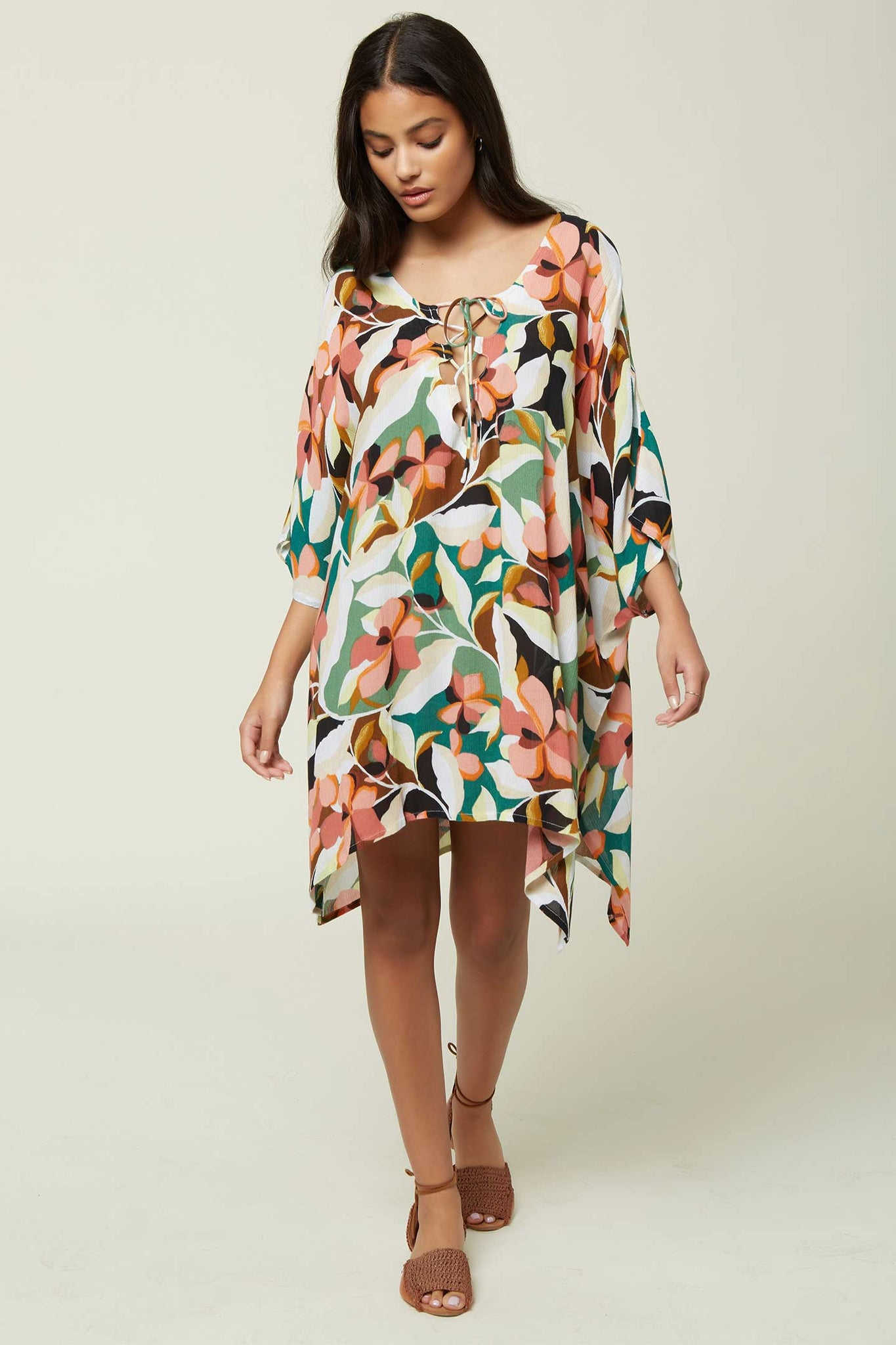 Tamra Cover-Up - Calla Black W/ Gold | O'Neill
