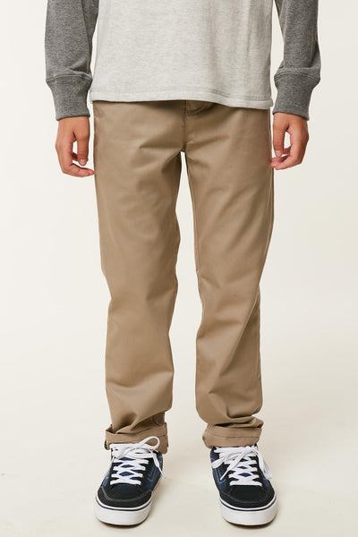 BOYS STANDARD CHINO PANTS