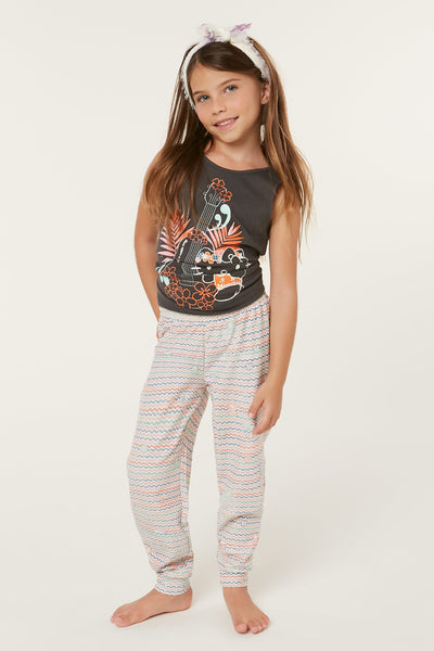 HELLO KITTY X O'NEILL TROPICAL TREASURES PANTS