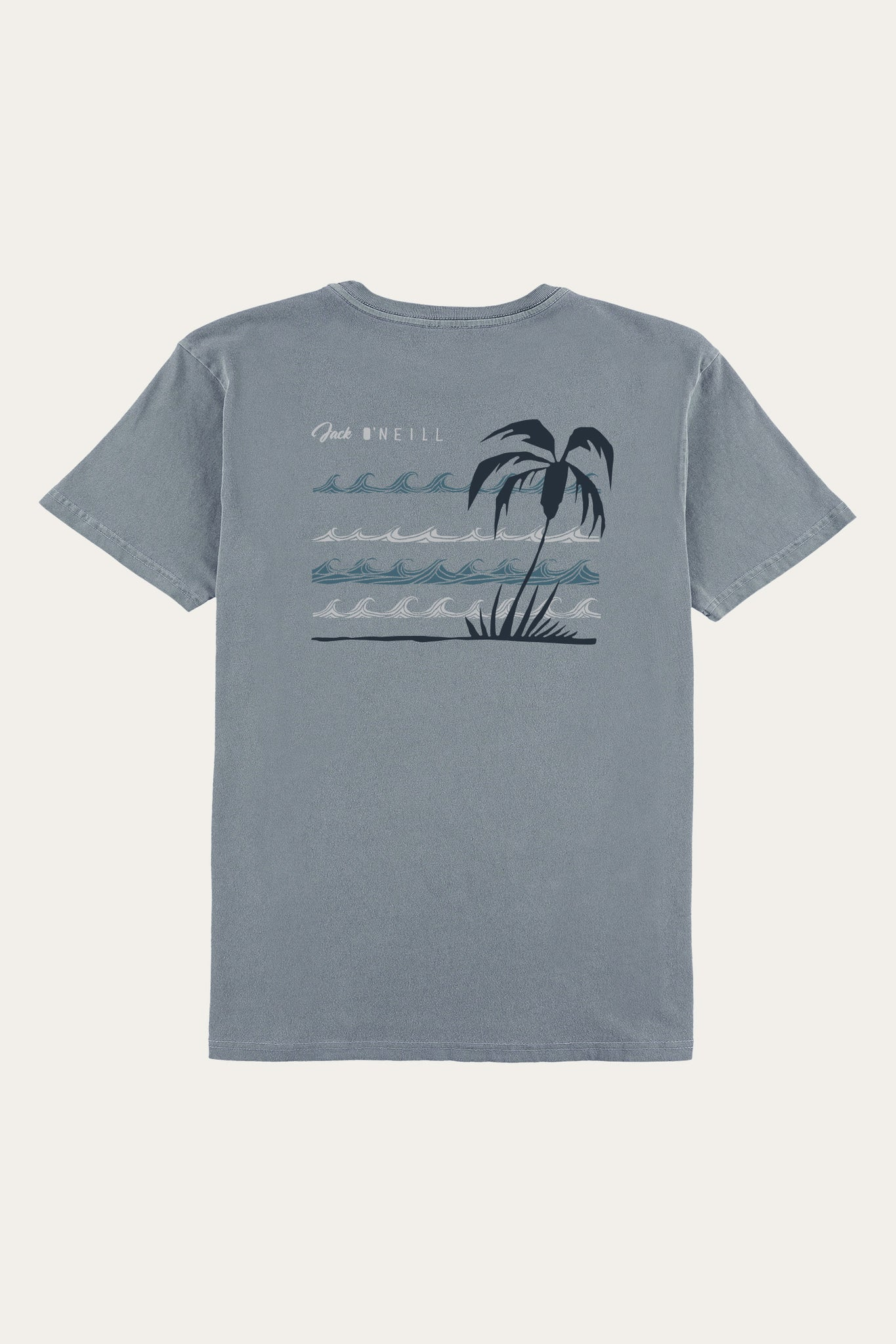 Jack O'Neill Views Tee - Smoke Blue | O'Neill