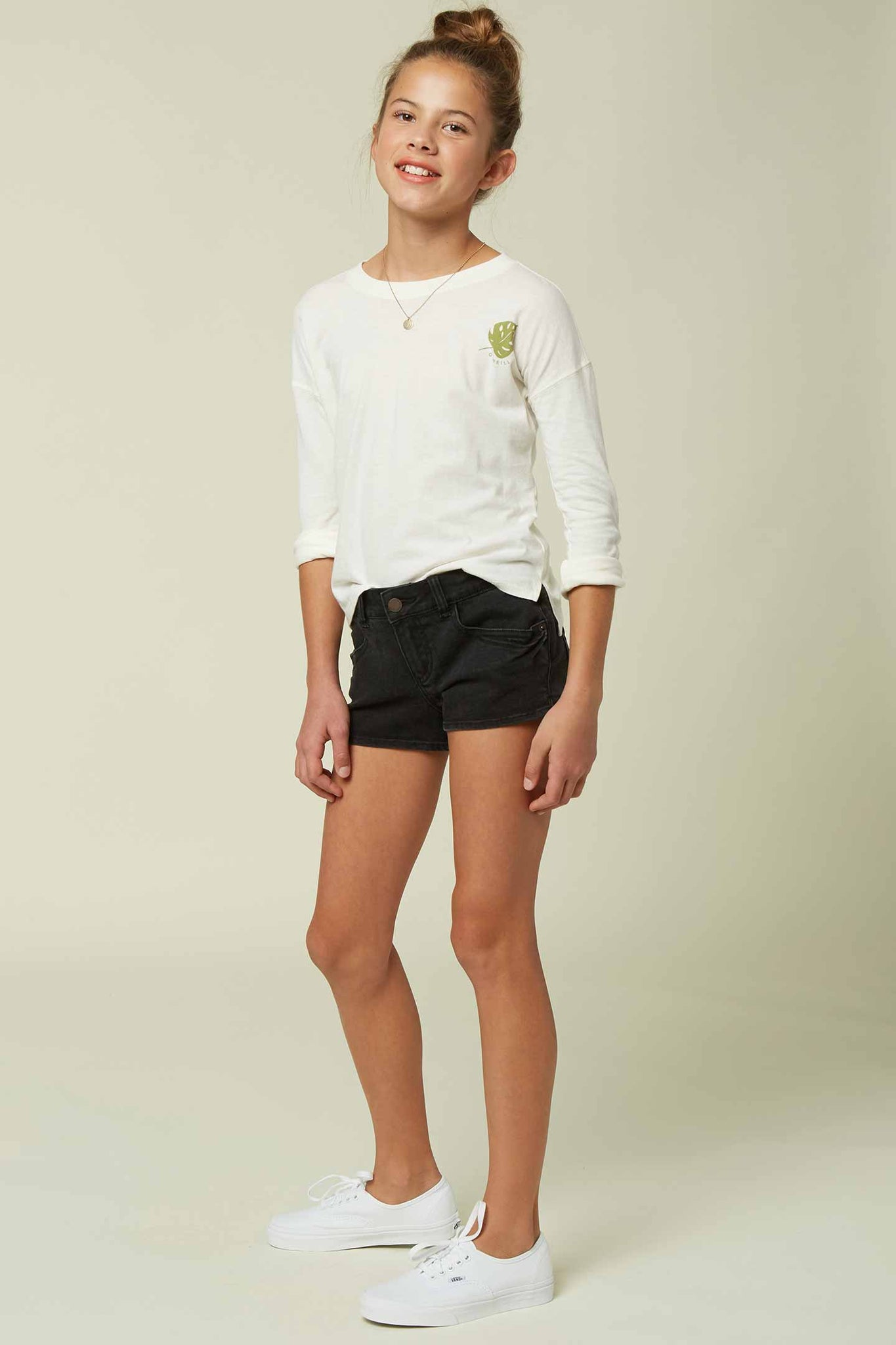 Girls Waidley 2 Shorts - Black | O'Neill