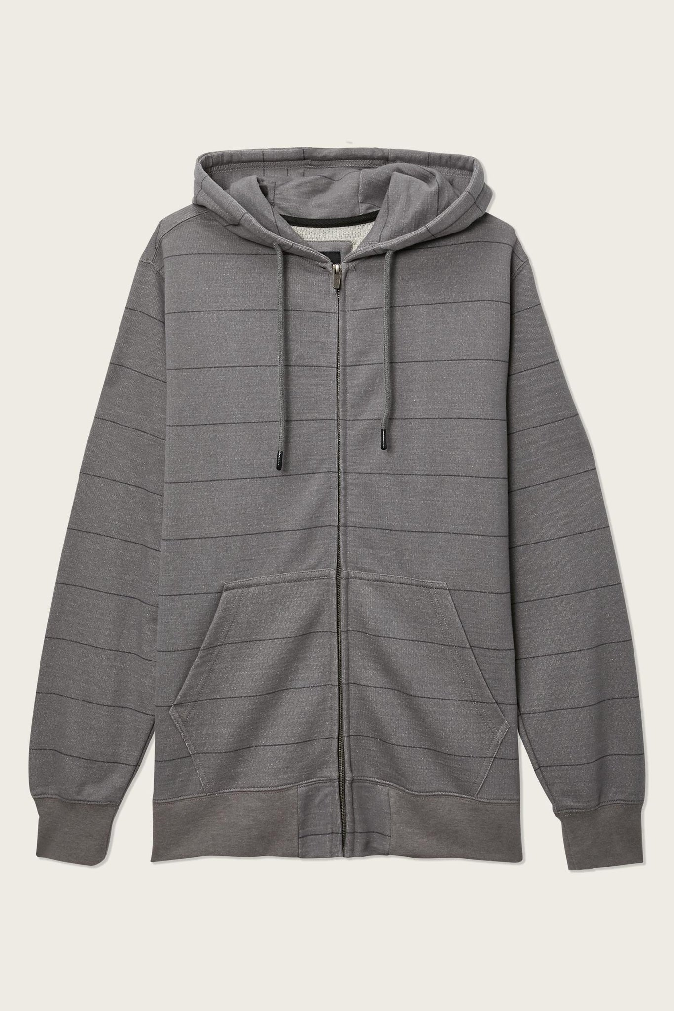 Whitechapel Stripe Zip Up Hoodie - Grey | O'Neill