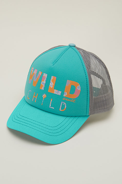 LITTLE GIRLS WILD STYLE HAT