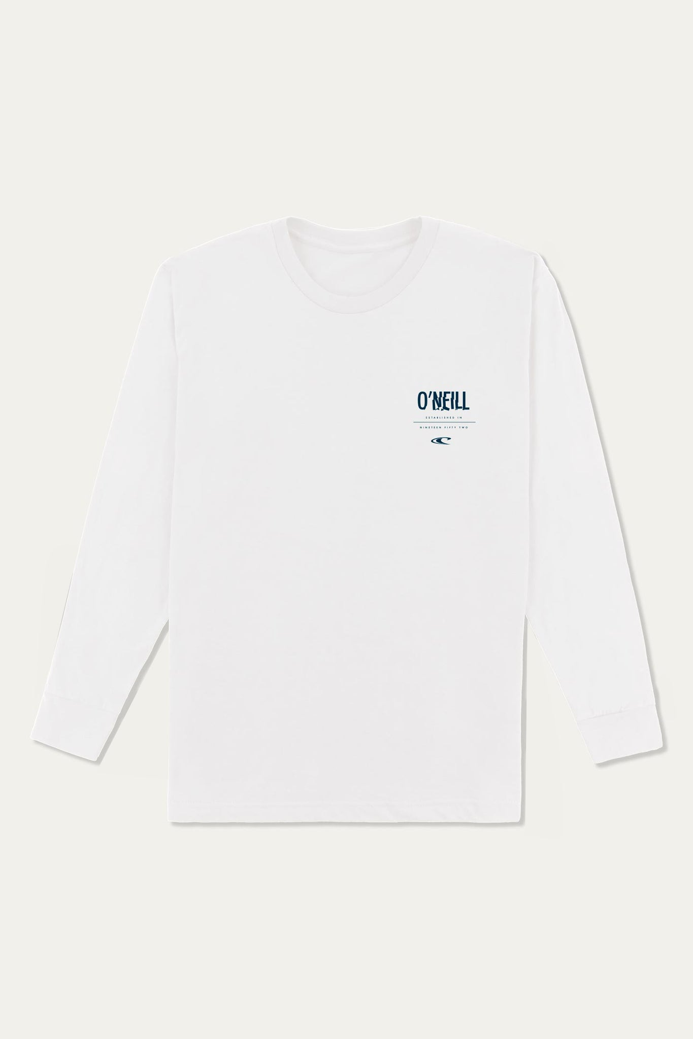Worked Long Sleeve Tee - White | O'Neill