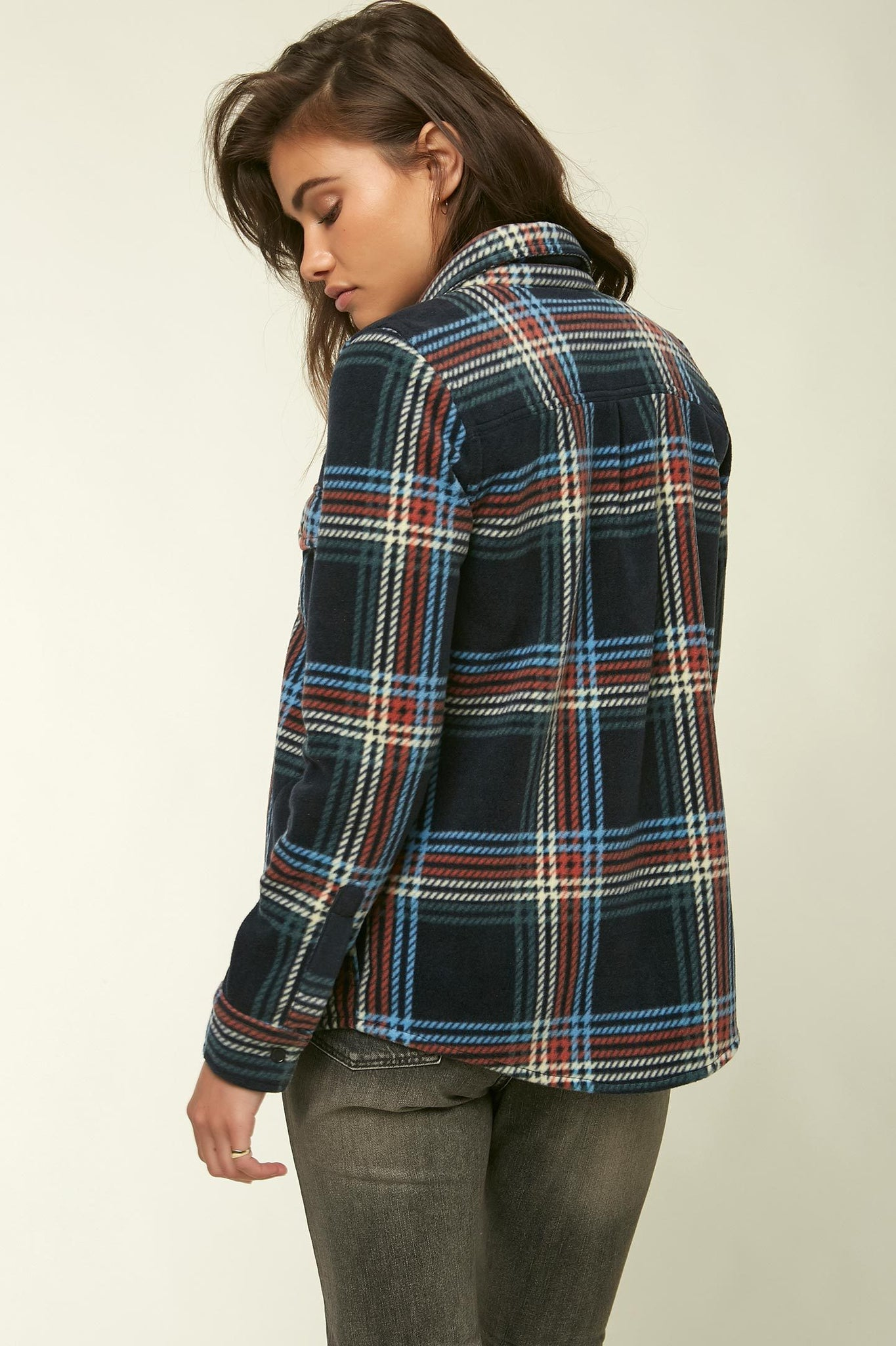 Zuma Superfleece Flannel Top - Abyss | O'Neill