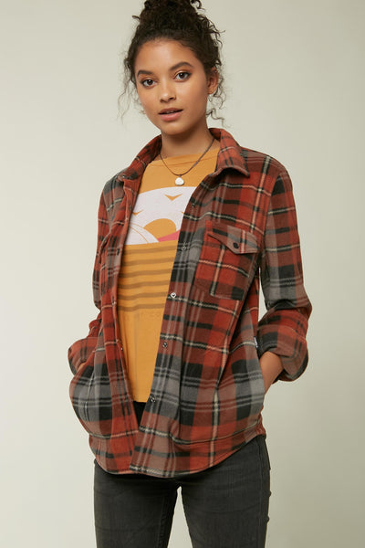 ZUMA SUPERFLEECE FLANNEL TOP