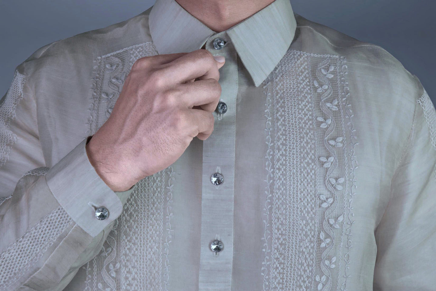 Look Impressive in our Elegant  Barong Tagalog