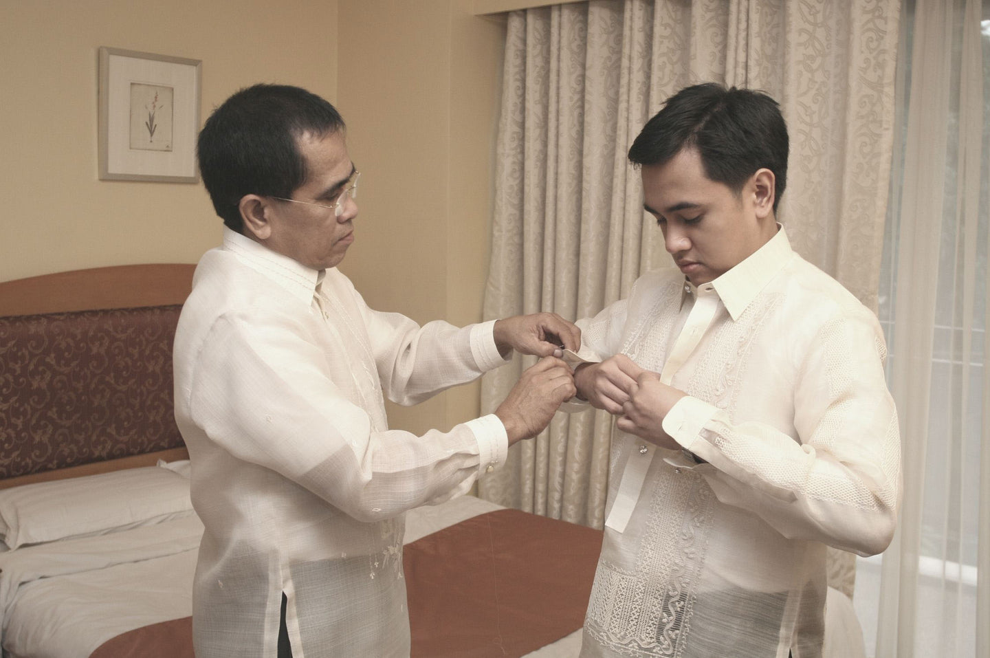 Barong Tagalog for the Groom