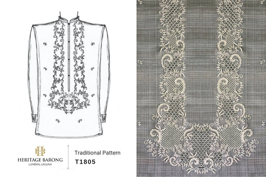 Traditional Barong Pattern