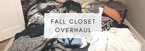 Fall is for Fashion and Wardrobe Purging