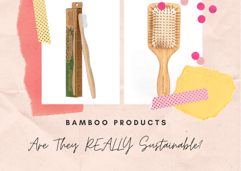Biodegradable + Ethical Bamboo Self-Care Products