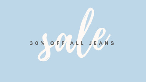 30% Off Jeans This Week Only