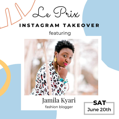 Instagram Influencer Jamila Kyari Takes Over Our Instagram!
