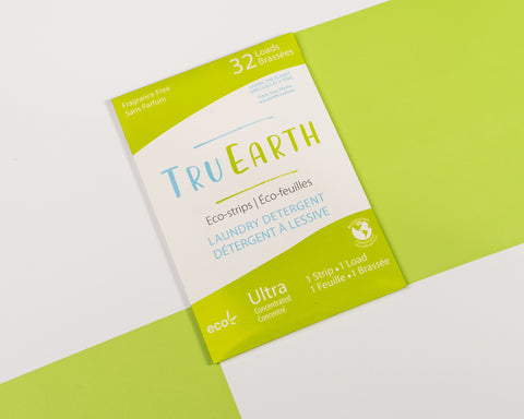 Tru Earth Eco-strips Zero Waste Laundry Detergent - Fragrance Free