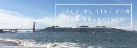 Pack for san francisco