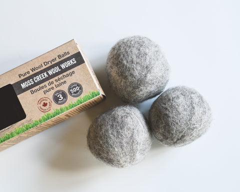 100% Pure Ethical Wool Dryer Balls - 3 Pack