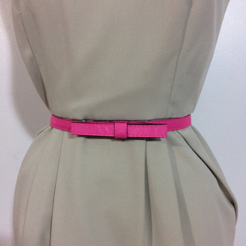 Venus Pink Bow Waist Belt - XS - Le Prix Fashion & Consulting