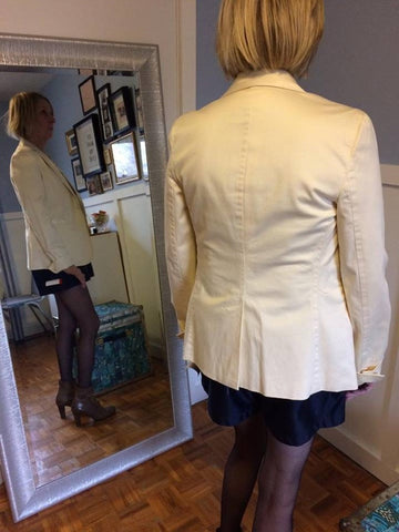 GAP Tribute Cream Blazer - Le Prix Fashion & Consulting