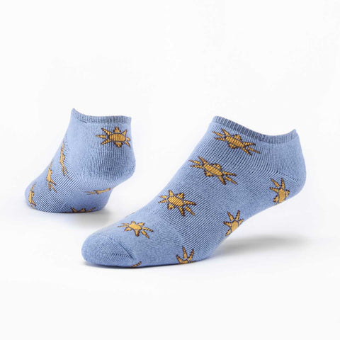 Sunny Day Footie Ankle Socks - Organic Cotton Fair Trade