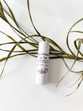 Zero Waste Organic Beeswax Lip Balm - Local & Handmade in Biodegradable Tube