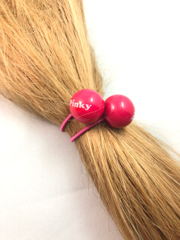Pinky Pink Hair Bauble Elastic - Le Prix Fashion & Consulting