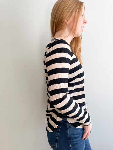 Silver Heart Hoop Dangle Earrings
