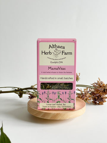 MamaVitas Feminine Herbal Tea - Althea Herbal Teas - PRE-ORDER