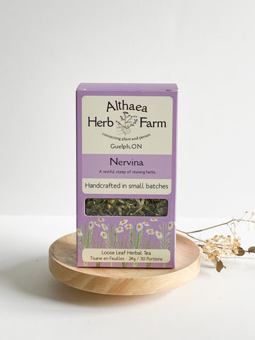 Nervina Chill Out Herbal Tea - Althea Herbal Teas - PRE-ORDER