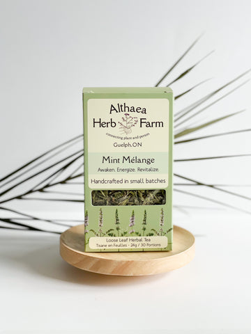 Mint Melange Herbal Tea - Althea Herbal Teas - PRE-ORDER