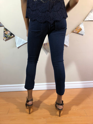Tory Burch Mara Crop Skinny Legging Jeans - Le Prix Fashion & Consulting