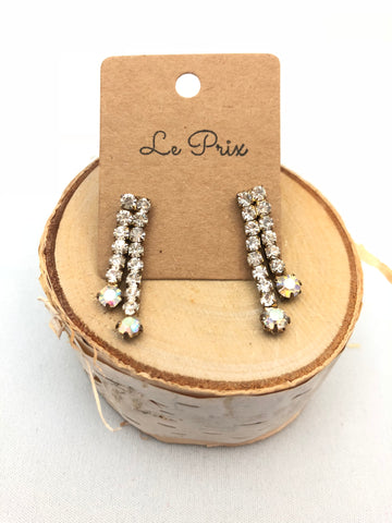 Vittore Crystal Earrings - Le Prix Fashion & Consulting