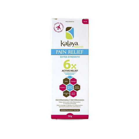 Kalaya 6X Extra Strength Pain Relief Cream - Travel Size - Le Prix Fashion & Consulting