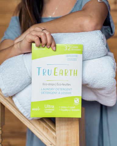 Tru Earth Eco-strips Zero Waste Laundry Detergent - Fragrance Free - Le Prix Fashion & Consulting
