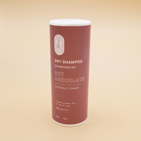 Natural Dry Shampoo - Hot Chocolate (Brunette)