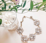 Bold Crystal Bauble Gold Necklace - Le Prix Fashion & Consulting