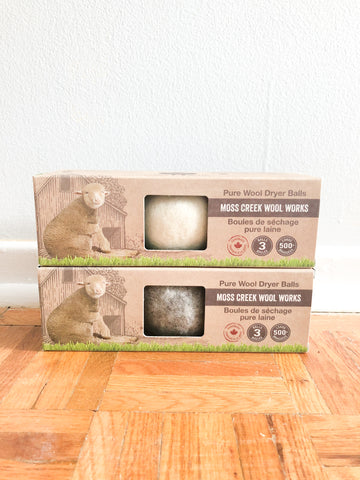 100% Pure Ethical Wool Dryer Balls - 3 Pack - Le Prix Fashion & Consulting