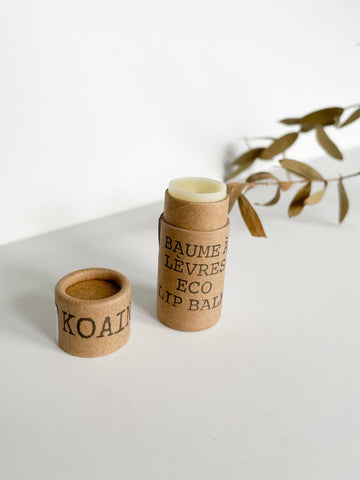 Koaino Hydrating Eco Oil Lip Balm - Handmade In Canada & Compostable