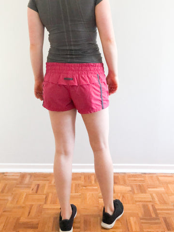 Lululemon Pink Track Running Shorts - Small